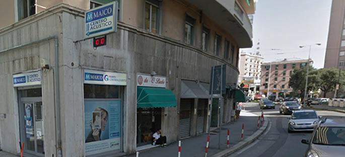 Centro Maico Genova Sampierdarena via Cantore 33 a/b rosso