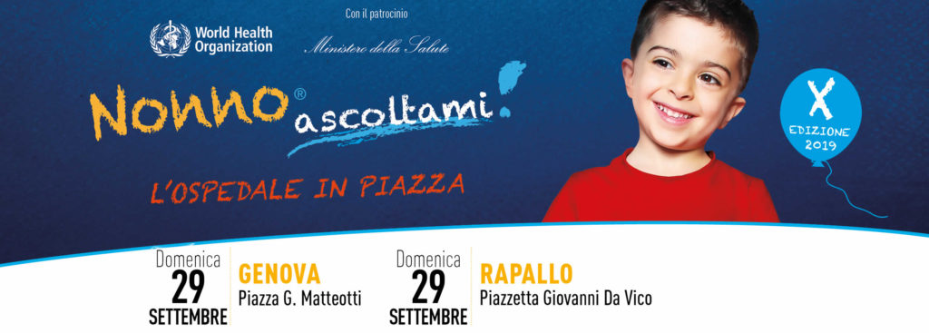 Nonno Ascoltami 2019 - Genova e Rapallo 29 settembre