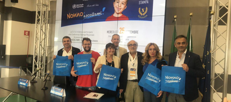 Nonno Ascoltami - Conferenza Stampa Regionale con vice Presidente Sonia Viale