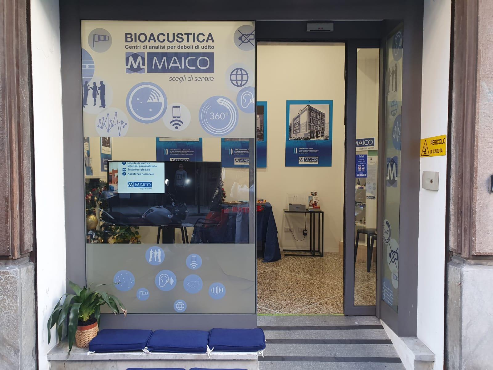 Vetrina Centro MAICO Rapallo