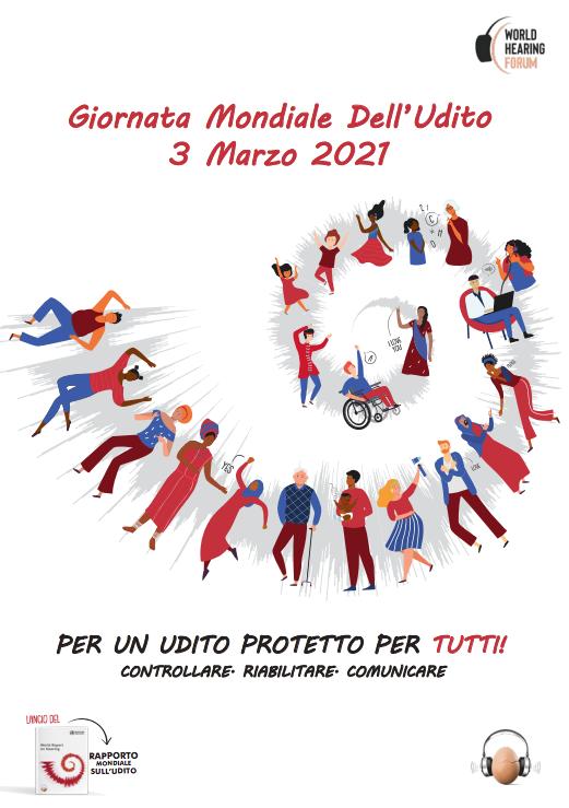 3 Marzo Giornata mondiale dell'udito 2021
